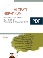 ENSEFALOPATI HEPATIKUM