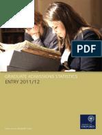 Graduate Statistics 2011-12