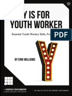 Y Is For Youth Worker