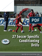 27 Soccer Specific Conditioning Drills
