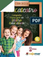 Campaña Municipal de Teatro Educativo - Curso 2013-14