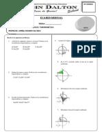 Examen Mensual Trigonometria Undecimo