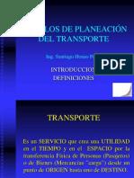 Modelos de Planeacion Del Transporte
