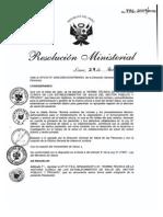 Historia Clínica (Norma técnica Minsa)
