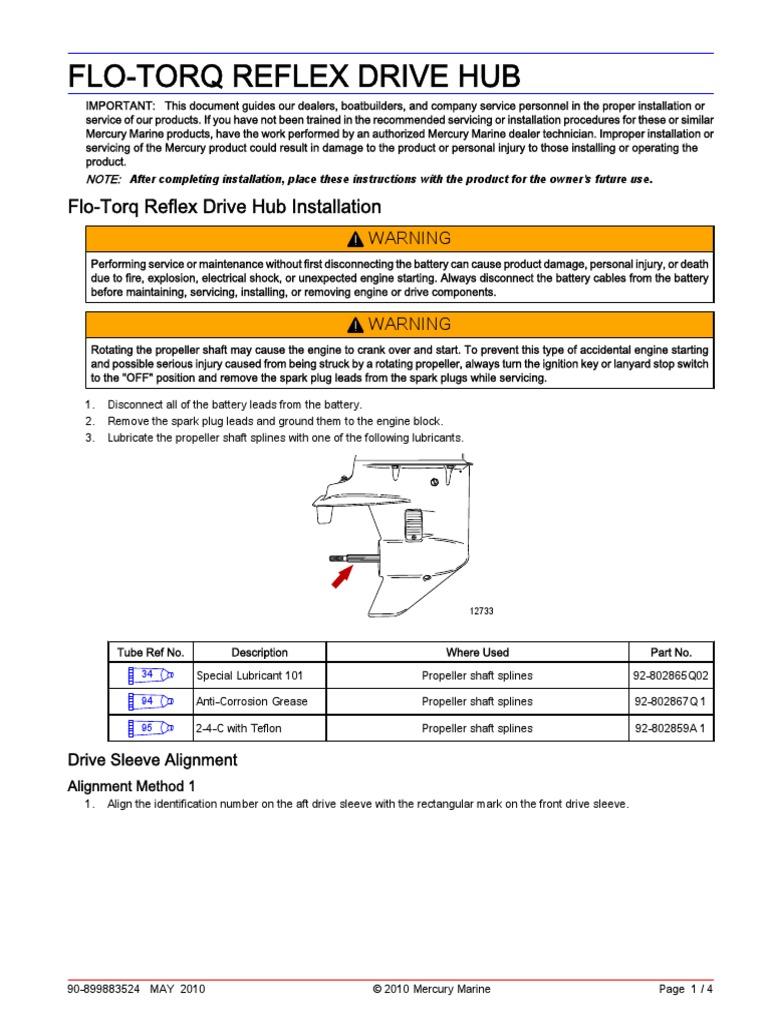 Flo Torq Installation | Propeller | Manufactured Goods