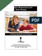 Colorado's Homeschool Law Turns Twenty