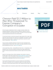 Amazon Defense Front press release mistakenly republished by the Chamber of Commerce Foundation, then cited as authority by the Front