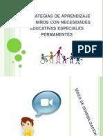 Estrategias de aprendizaje para niños con necesidades educativas