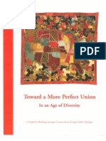 Toward a More Perfect Union in an Age of Diversity