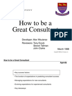 for Consulting