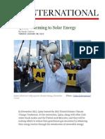 Qatar Warming to Solar Energy