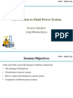 Day 1b - Introduction to Fluid Power System