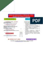 Curso de Educação Formação - Tipo 7