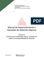 Manual de Desenvolvimento de Sistemas Seguros Vol2 v2.0
