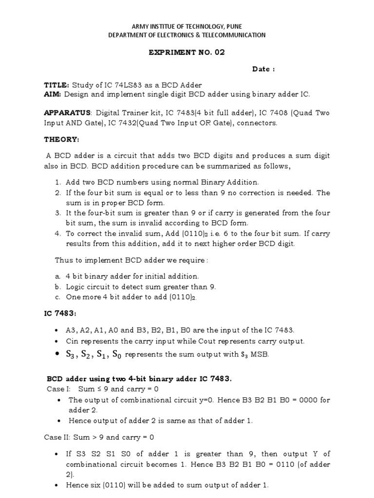 WRG-9423] Logic Diagram Of Ic 7483 on
