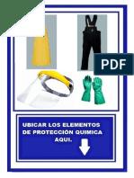 UBICACION DE EPP´S DE QUIMICOS