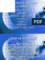 Power Point Blog y Ntic
