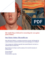 James Holmes Files Tumblr