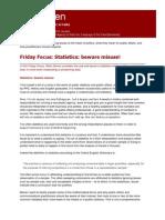 Friday Focus - Statistics