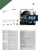 Folheto Amarok High e Trend 13-12-12