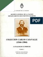 Colección Carlos Casavalle 1 - Archivo General de la Nación