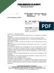 Lei 1.334 - CÓDIGO DE OBRA
