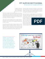 """Artigo """"PPT além do Institucional"""" (MZ Group)"""