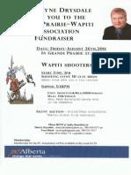 PC Wapiti Fundraiser
