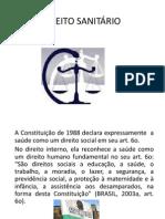 Aula 01 - DIREITO SANITÁRIO