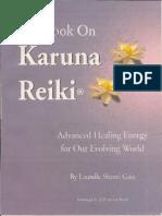 The Book on Karuna Reiki Advance Healing