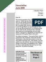 St Vs Newsletter June 2009