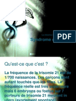 Syndrome de Down SHOW