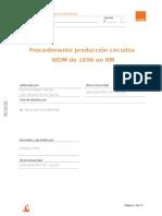 Procedimiento ejecución path RM 1696