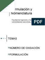 Formulación y nomenclatura-FICH 2009