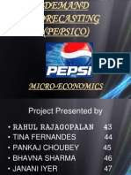 Pepsico Demand Forecasting