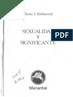 167397813 Rabinovich Sexualidad y Significante