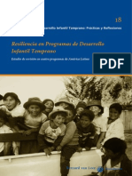 Resiliencia en Programas de Desarrollo Infantil Temprano Estudio de Revision en Cuatro Programas de America Latina