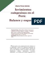 Alberto Flores Galindo - Moviminetos campesinos en el Perú (extracto)