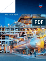 Chevron 2012 Annual Report