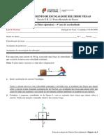 Miniteste_2 - Leis de Newton - Resolução