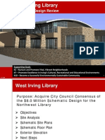 West Irving Library Presentation