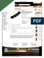 Dell BATEL80L6 Batería