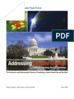 Addressing Climate Change Without Impairing the U.S. Economy - Fall 2008