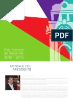 Plan Municipal de Desarrollo Pachuca