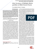 The Classification Accuracy of Multiple-Metric Learning Algorithm on Multi-Sensor Fusion