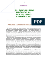 Del Socialsmo Utópico al Socialismo Científico