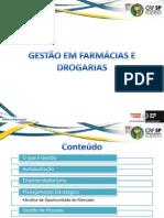 Apostila Gestão em farmácias e drogarias - Completo 2013