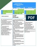 Calendário 2013 - colorido