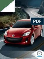 2013 Mazda 3 Brochure