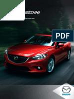 2014 Mazda 6 brochure